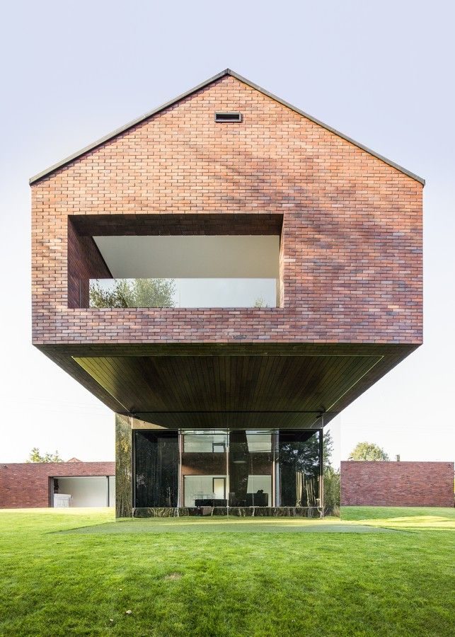 Living-Garden House in Katowice  Design: Robert Konieczny – KWK Promes, architects