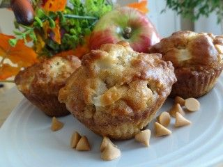 Recette Muffins pommes et caramel - Recettes du Québec