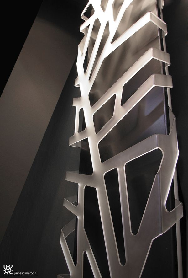 """""""FLORA"""" - heating radiator - design / engineering: James di Marco produced & distribuited by CALEIDO"""