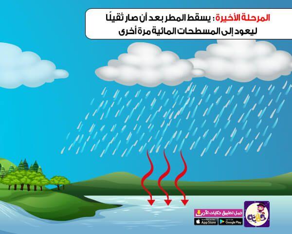 قصة عن دورة الماء في الطبيعة للاطفال بالصور تطبيق حكايات بالعربي In 2021 App