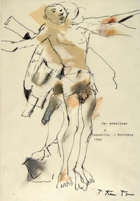 """De-emballage"" - a picture, 1996, from a private collection"