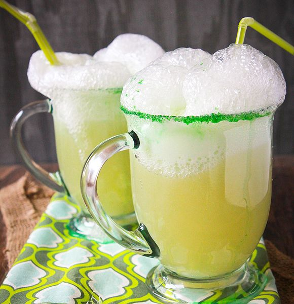Non-Alcoholic Shamrock Ale for the kids  st. Patrick's day