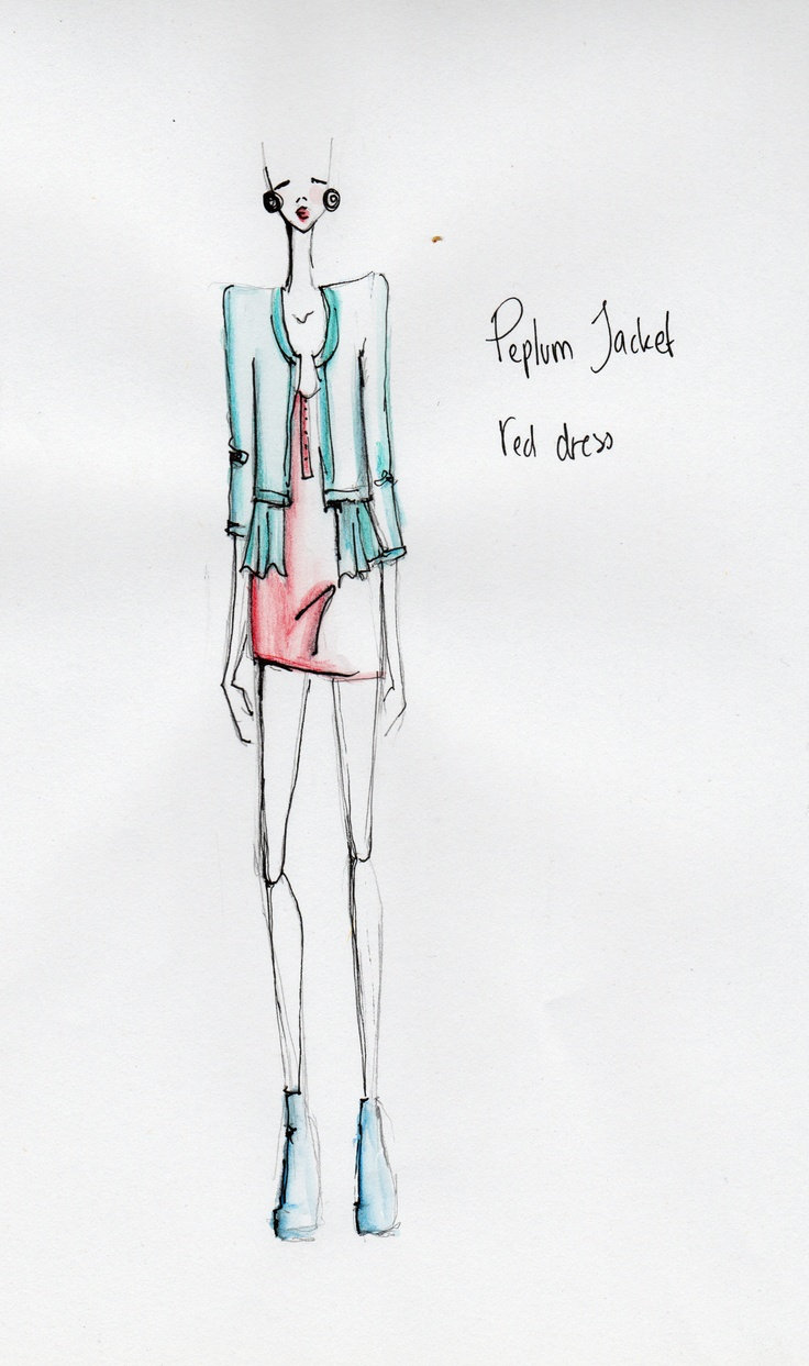 Fashion illustration by Tibbe Smith. www.tibbesmith.com