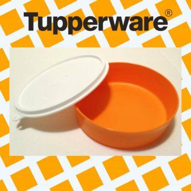 Tupperware 1 BIG WONDER CEREAL BOWL ORANGE w/seal NEW #Tupperware #BigWonder