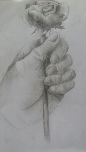 Hands hold the real beauty #drawing