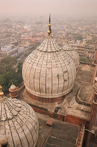Jama Masjid, Old Delhi, India.