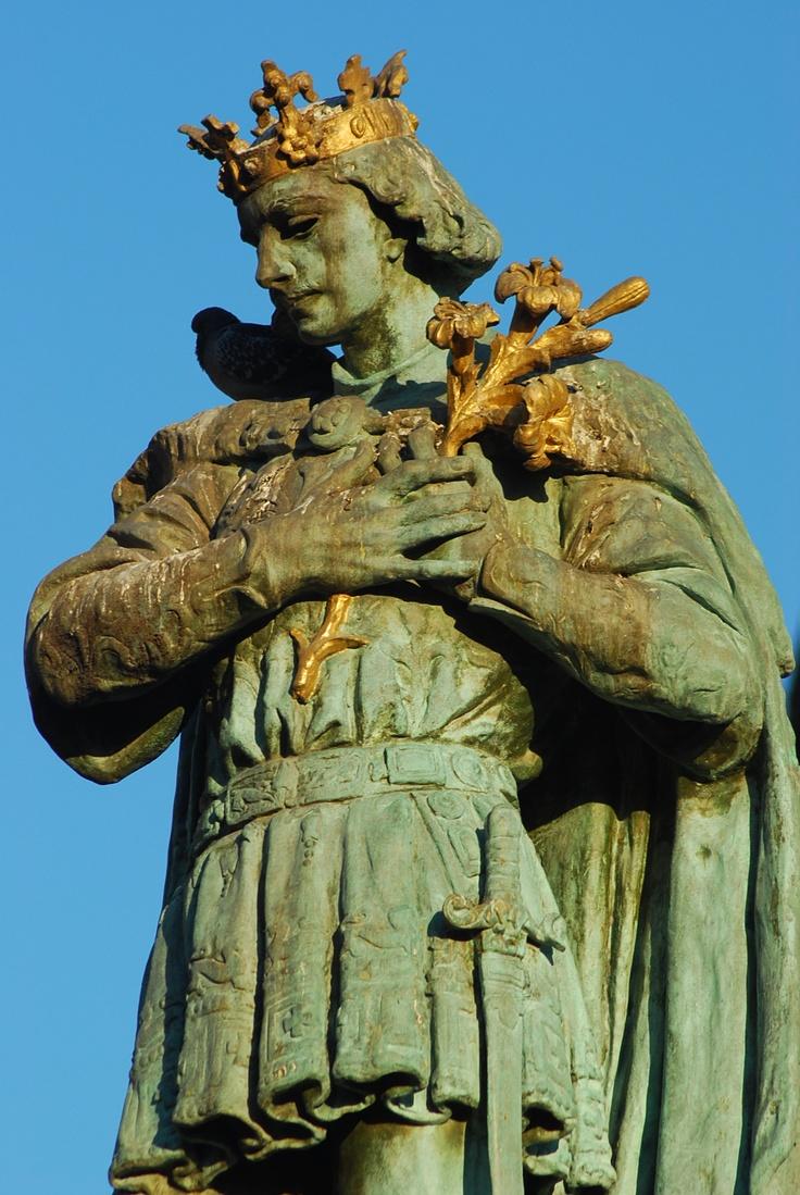 Szent Imre szobor . Hungary