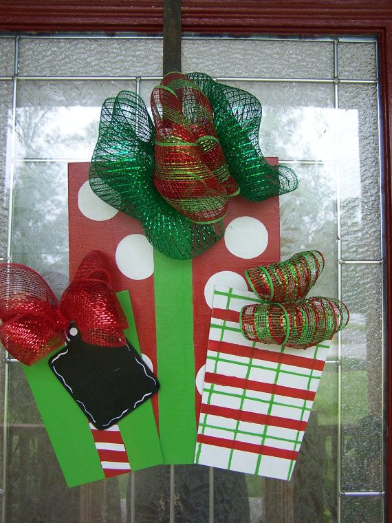 Christmas Yard Art Yard Decor Christmas Door Hangers