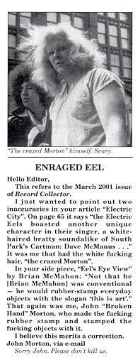 LOVE the Electric Eels! /// mortonresponse[1]