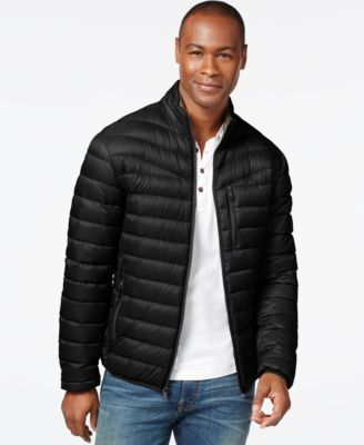 INC International Concepts Big & Tall Solid Down Packable Jacket, Only at Macy's