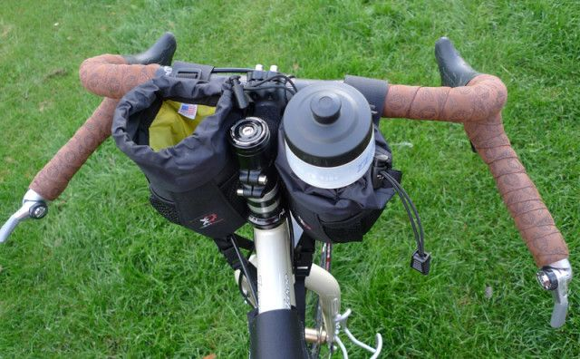 DIY Bikepacking feedbags can be yours for less than $17. Bikepacking companies are changing how we carry gear when bicycle touring. I love these new bags.
