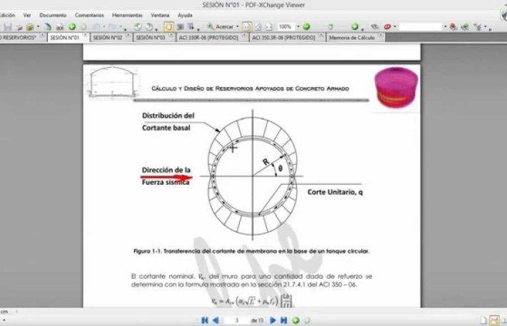 SAP2000 - Sesion N°01 Compartida CURSO RESERVORIOS APOYADOS DE CONCRETO ARMADO CON SAP2000 | CivilFree.Com Tutoriales | Videos | Programas | La Web que el Ingeniero Busca