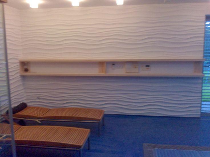 "Decorative panel WAVE ""live"""