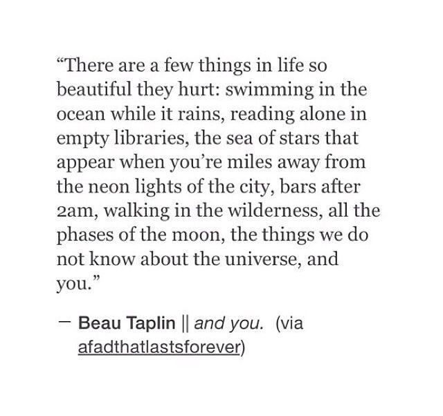 Beau Taplin - And You