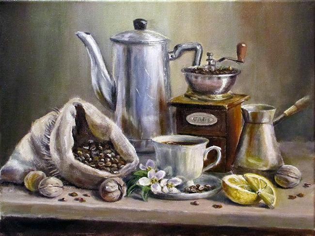 Кофейный аромат в пасмурный день