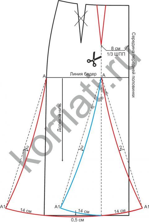 Skirt-pattern-shestiklinka-1-480x718.png (480×718)