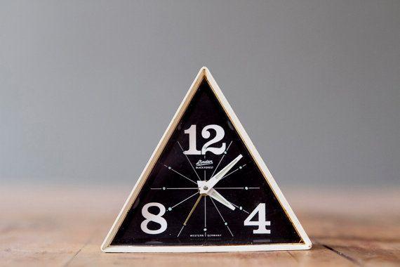 Triangle Alarm Clock #geometric