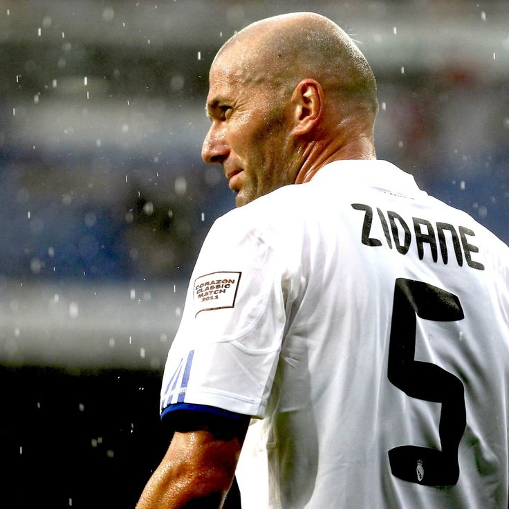 """Born: June 23th 1972 ~ Zinedine Yazid Zidane, nicknamed """"Zizou"""", is a retired French footballer and current coach of Real Madrid Castilla. He played as an attacking midfielder for the France national team, Juventus and Real Madrid."""