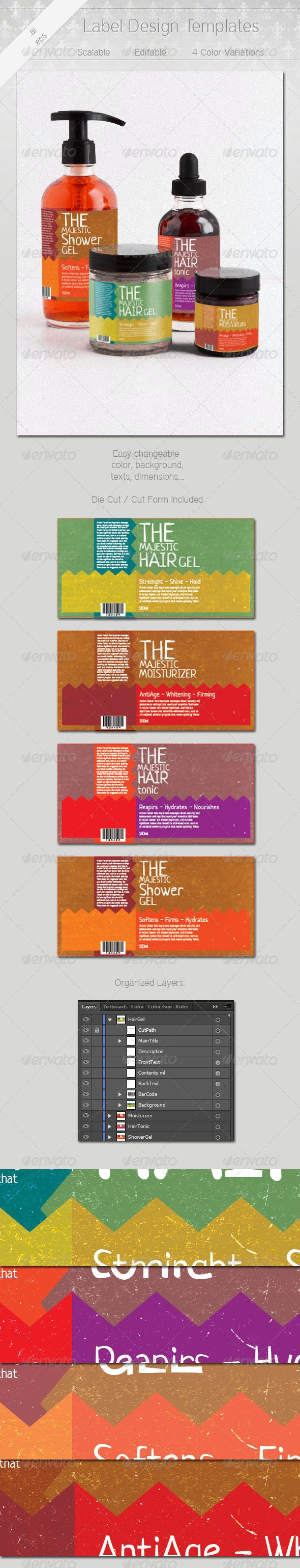 167 best images about Premium Packaging Templates – Package Label Template