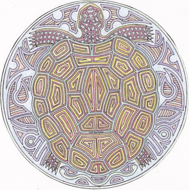 turtle mandala coloring pages animal pinterest mandala coloring. Black Bedroom Furniture Sets. Home Design Ideas