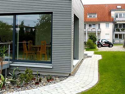 7 best anbau holz mit garage images on pinterest carriage house garage. Black Bedroom Furniture Sets. Home Design Ideas