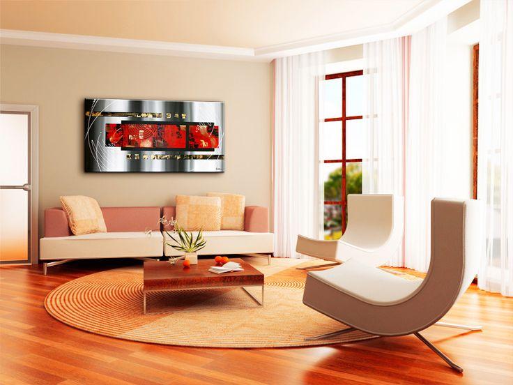 Muurdecoratie Woonkamer Modern : Woonkamer slaapkamer keuken modern ...