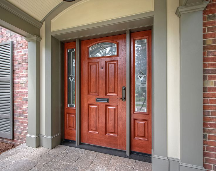 17 best shut the front door images on pinterest for Fiberglass doors pros and cons