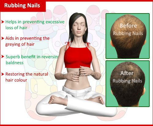 Rubbing Nails For Treating Hair Loss And Its Science In Reflexology -   Read: http://www.epainassist.com/alternative-therapy/rubbing-nails-is-an-effective-treatment-for-hair-loss