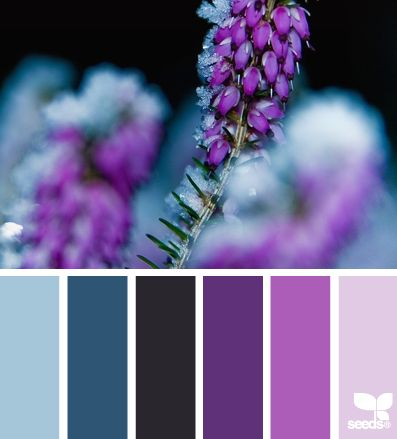 Home page design purple colors and gouache - Purple and blue combination ...
