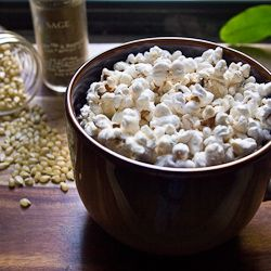 Sage and Brown Butter Popcorn | Something I'd Like to Try | Pinterest