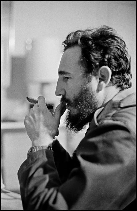 Elliott Erwitt. Fidel Castro 1964