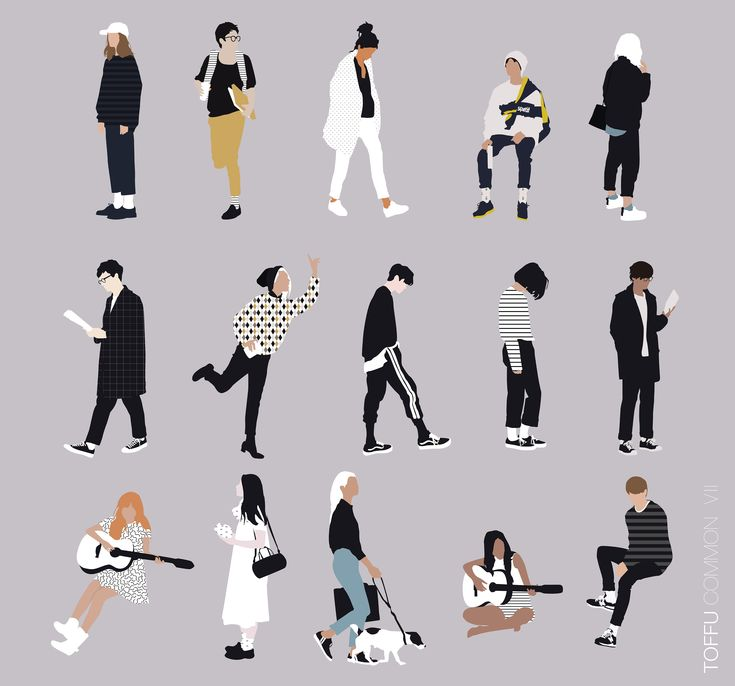Vector People for Architecture | toffu.co