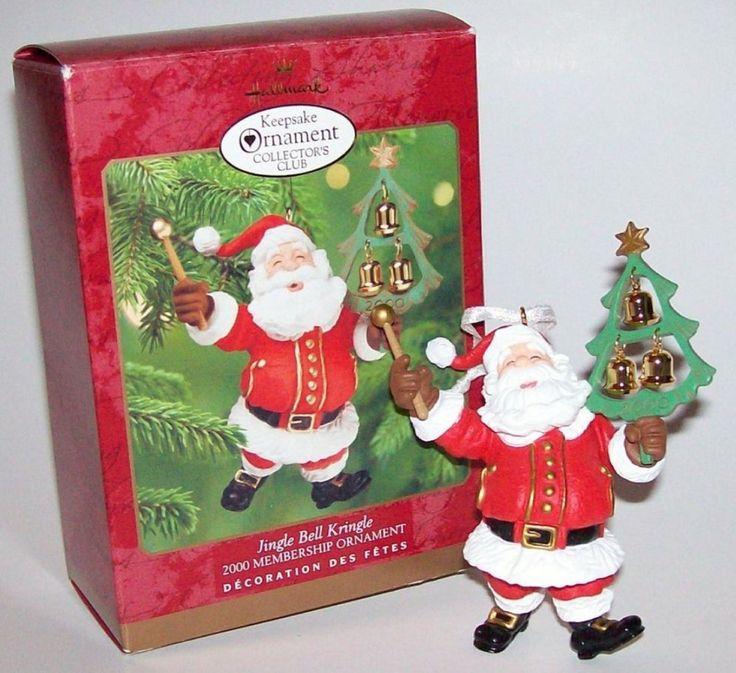 793 New Hallmark 2000 Kringle Santa on Mercari in 2020
