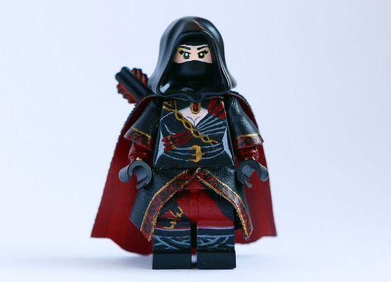 Nyssa Al Ghul Custom Minifigure