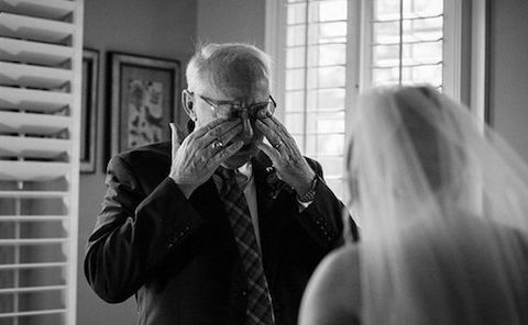 These wedding photos will melt your heart. http://www.womangettingmarried.com/17-father-daughter-wedding-photos-get/