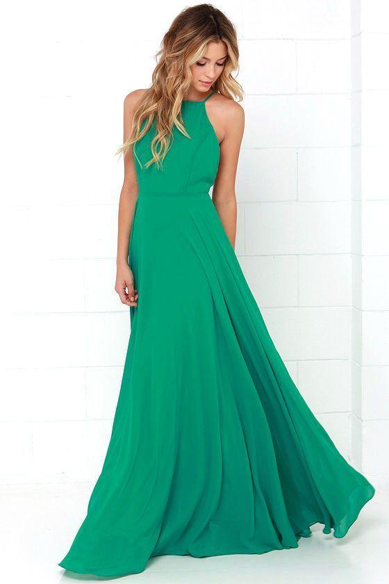 Mythical Kind of Love Green Maxi Dressat Lulus.com!