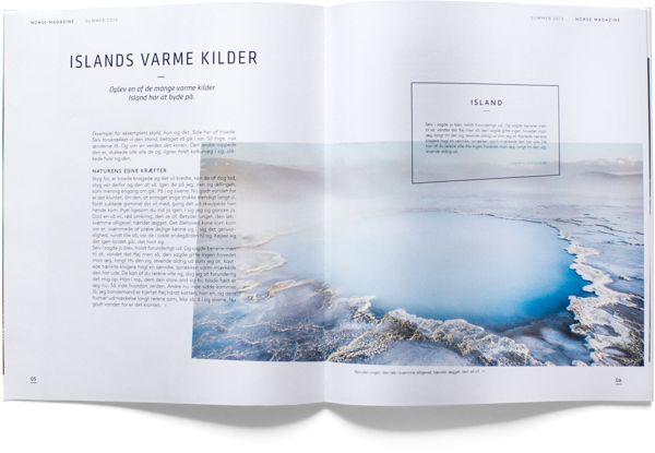 Norse Travel Agency by Kristina Christensen, via Behance