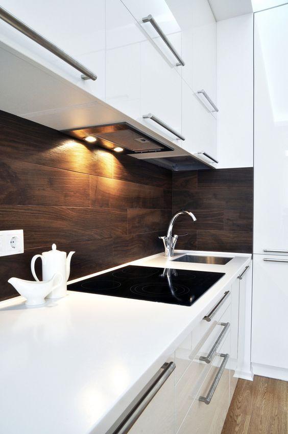 Белая кухня в интерьере (60 фото) | Небольшое ...