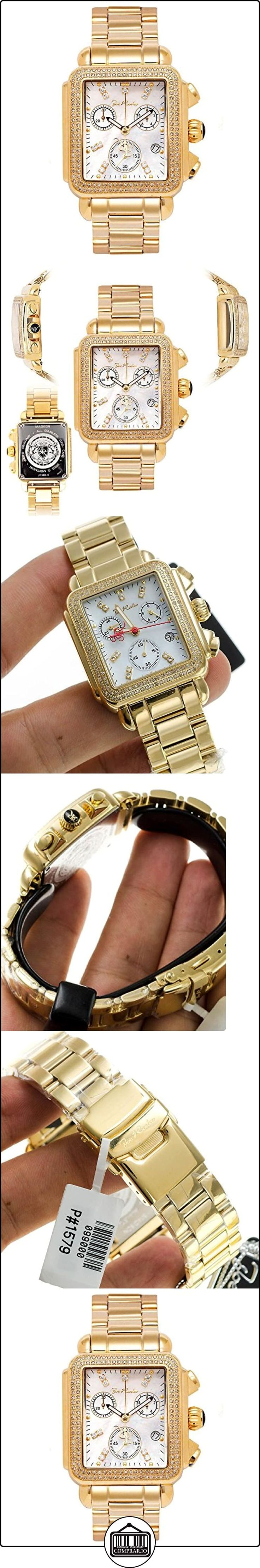 JOE RODEO Diamond Ladies Watch-Madison Oro 1.5quilates de  ✿ Relojes para mujer - (Lujo) ✿