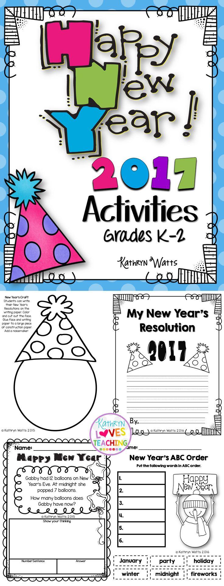 New Year's Activities 2017