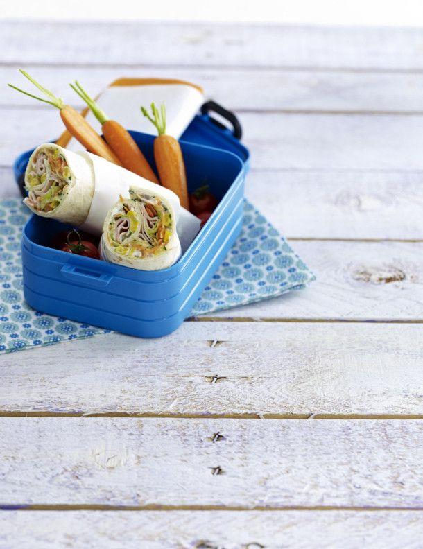 Unser beliebtes Rezept für Gemüse-Wraps mit Putenbrust und mehr als 55.000 weitere kostenlose Rezepte auf LECKER.de.