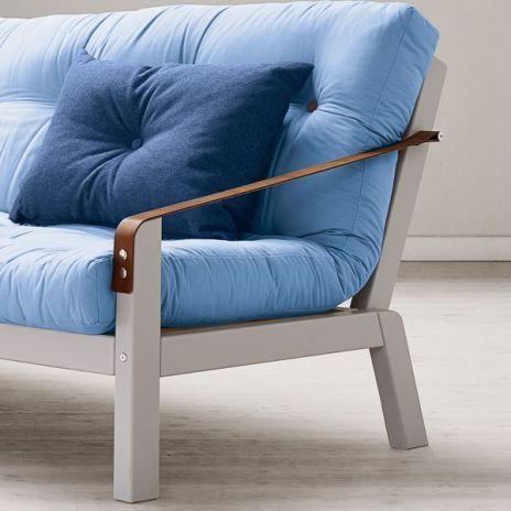 POEMS, convertible sofa : #nordic #design #scandinavian http://www.my-deco-shop.com/design/fr/sofa-canape-lit-clic-clac/1325-poems-sofa-convertible-une-ligne-sobre-et-des-details-soignes-un-pur-design-danois-structure-bois-futon-.html