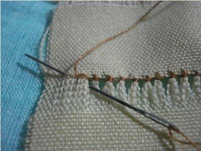 tutorial de  bordados calados