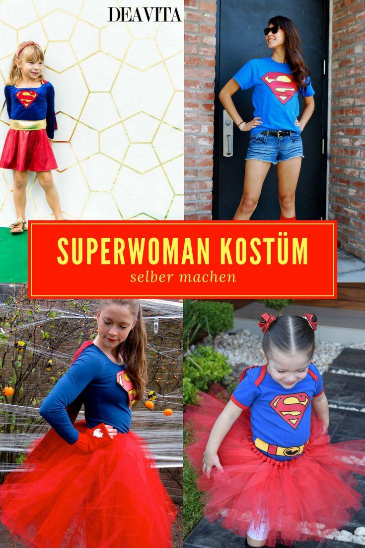 Für Frauen und Mädchen haben wir in diesem Artikel viele tolle Ideen für ein Superwoman Kostüm zusammengestellt, das Sie selber zu Hause nachmachen können. Lassen Sie sich von unseren schönen Ideen und wertvollen Tipps für ein Halloween- oder Faschingskostüm für Erwachsene und Kinder inspirieren.