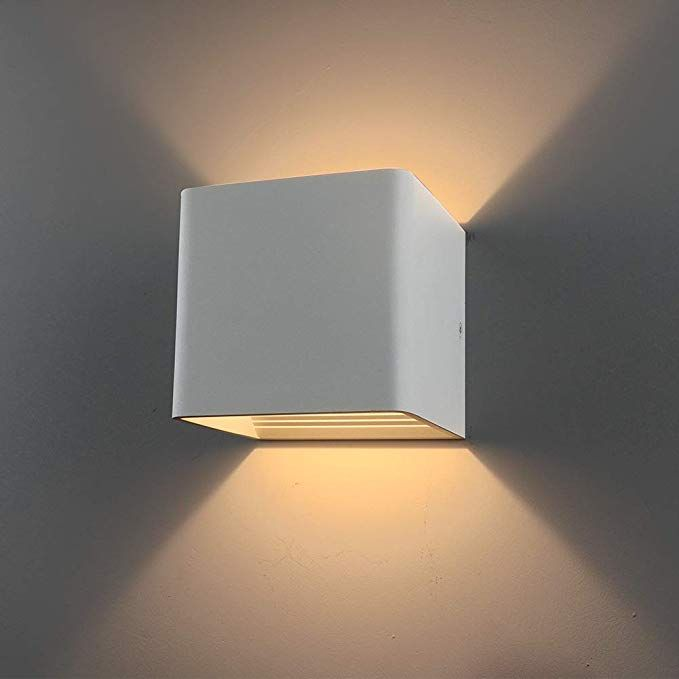 Ralbay Modern Led Wall Sconce Lighting Fixture Lamps 10w Warm White Up And Down Wall Lamps For Livin Sconce Light Fixtures Wall Sconce Lighting Led Wall Sconce
