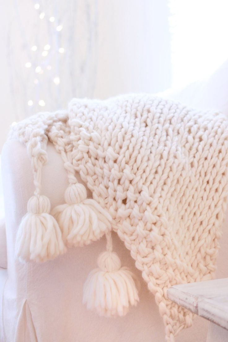 Free Knitting Pattern For Baby Blanket In Chunky Wool : 1000+ images about Knitting on Pinterest Stitches ...