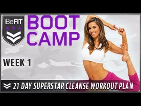 21 Day Yoga Superstar Cleanse Yoga Workout Plan Series (playlist)