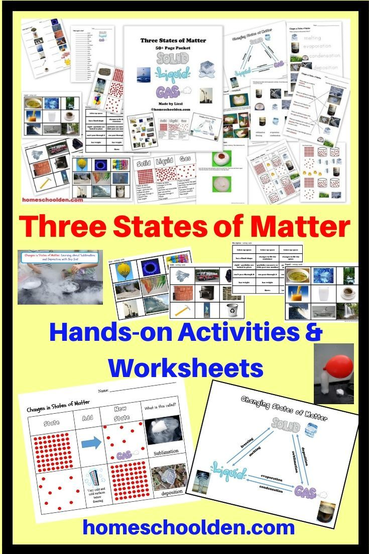 This 50 Page Packet Will Help Your Students Understand The Three States Of Matter Including The States Of Matter States Of Matter Worksheet Matter Worksheets