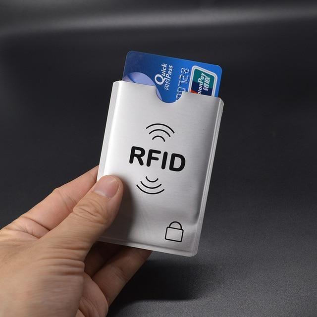 Aluminium Anti Rfid Blocking Case To Protect Credit Cards Bank Card Case Metal C…