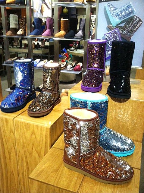 Savvy Mode: Sequin UGG Boots in Colors | fashion for me